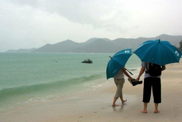 В Таиланде официально объявлен сезон дождей