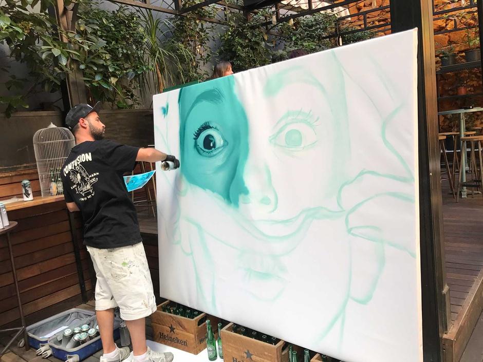 На фестивале Street Art & Food Fest в Мадриде пройдет национальный конкурс стрит-арт-художников