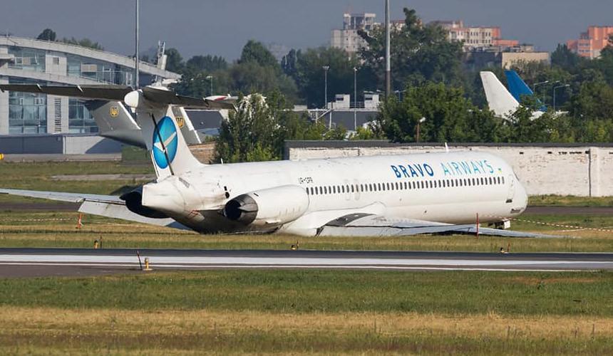 Во время нештатной ситуации при посадке борта Bravo Airways пострадавших нет