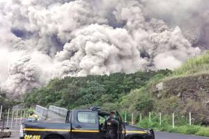 После извержения вулкана на Гватемалу идут сильные дожди