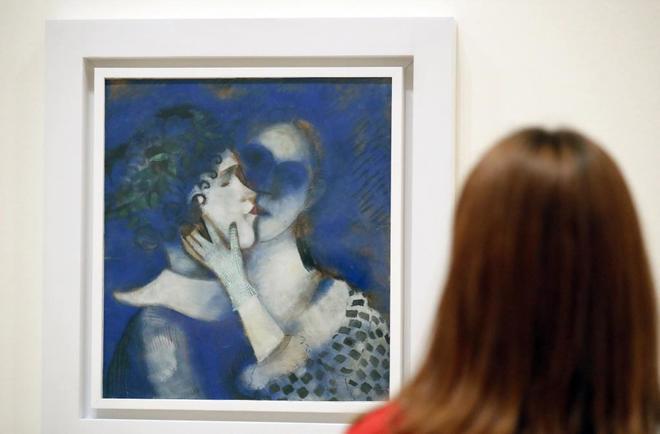 Музей Гуггенхайма в Бильбао открывает выставку работ Марка Шагала