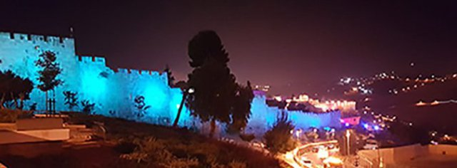 700 мельниц ночного Иерусалима зажгутся уже завтра