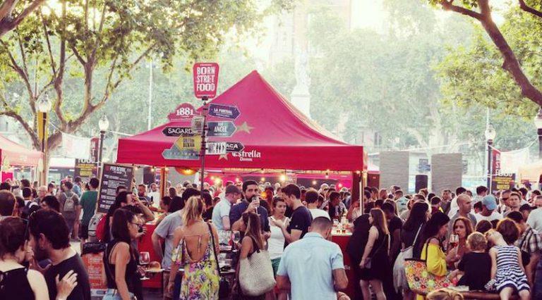 Born Street Food 2018: фестиваль уличной еды в Барселоне