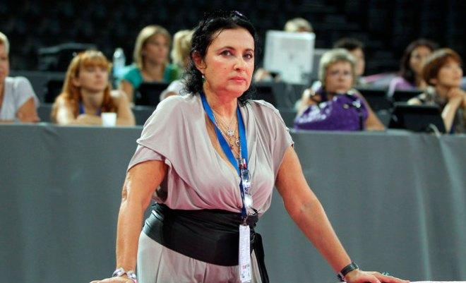Испанская федерация гимнастики расследует инцидент с падением части декораций на президента ВФХГ Ирину Винер-Усманову