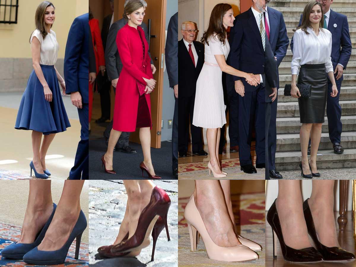 Королева Летисия – законодательница моды на туфли на каблуке