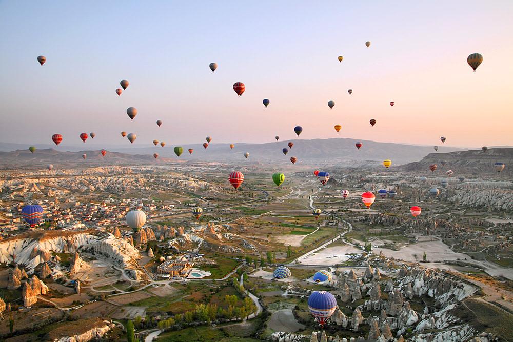Турецкая Каппадокия столкнулась с засильем китайских туристов