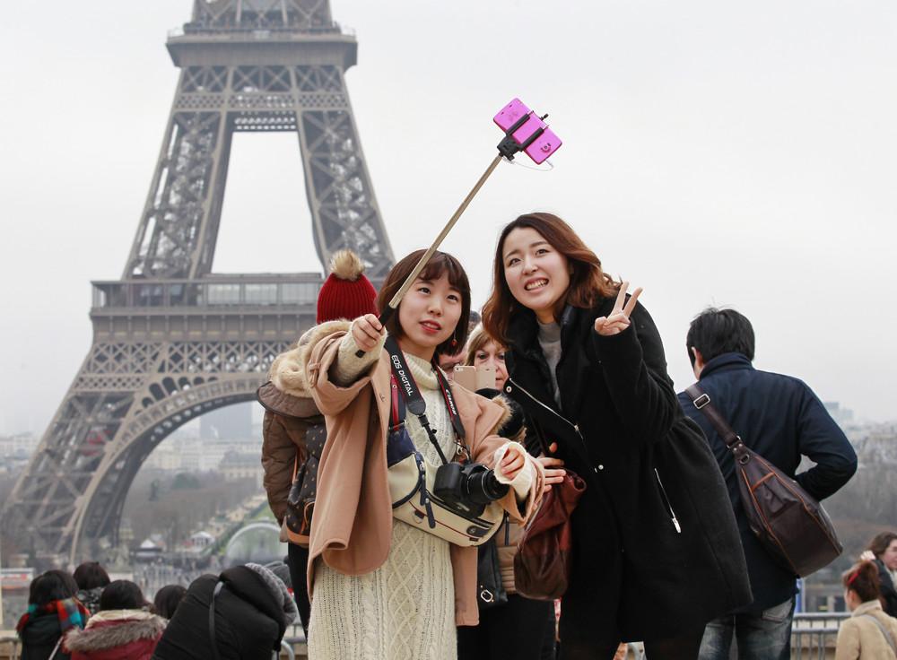 В текущем году китайский турпоток в Европу вырос на 9.5%