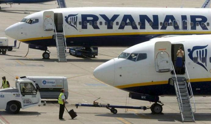Возможная забастовка пилотов Ryanair негативно скажется на перевозке 115 000 испанских пассажиров ежедневно