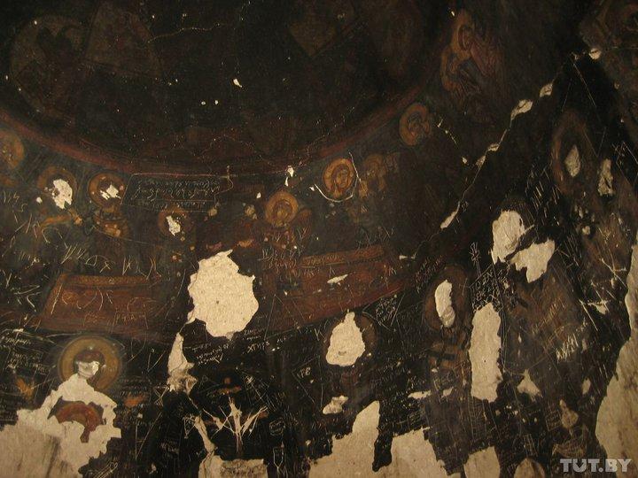 Купол средневекового скального монастыря. Фото: Юрий Зиссер, TUT.BY