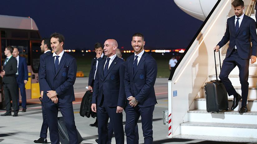Испанская футбольная сборная прибыла в Краснодар