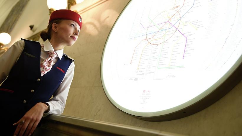 Для туристов все указатели в московском метро переведут на английский язык