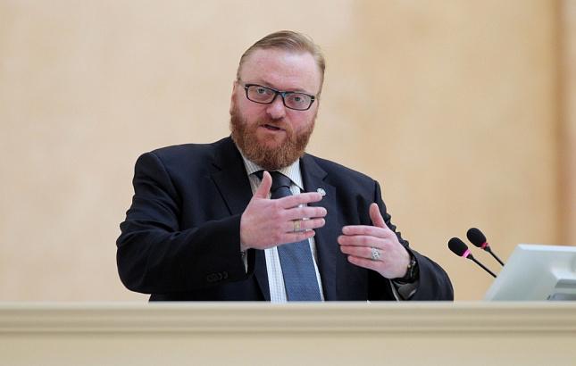 Депутат Милонов заявил, что отдых в Крыму дороже «санкционного»