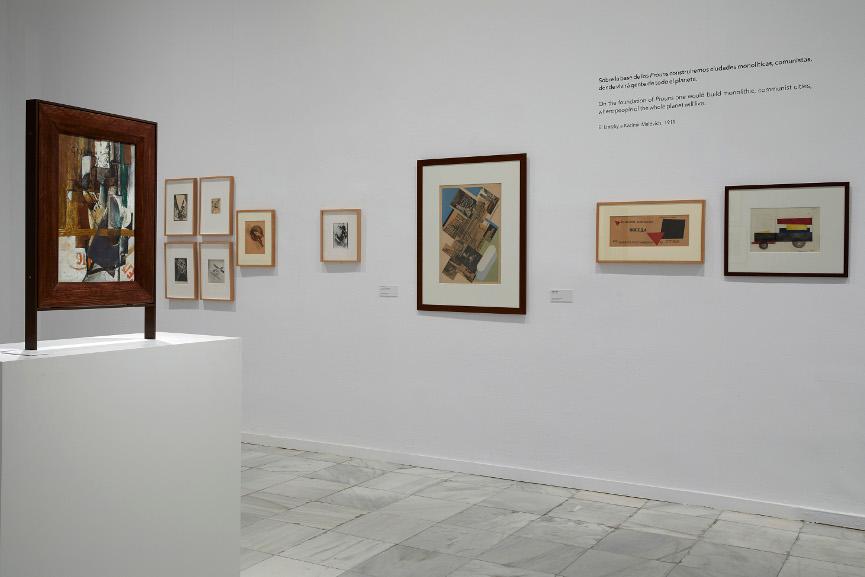 В Музее королевы Софии проходит выставка, посвященная русскому дадаизму