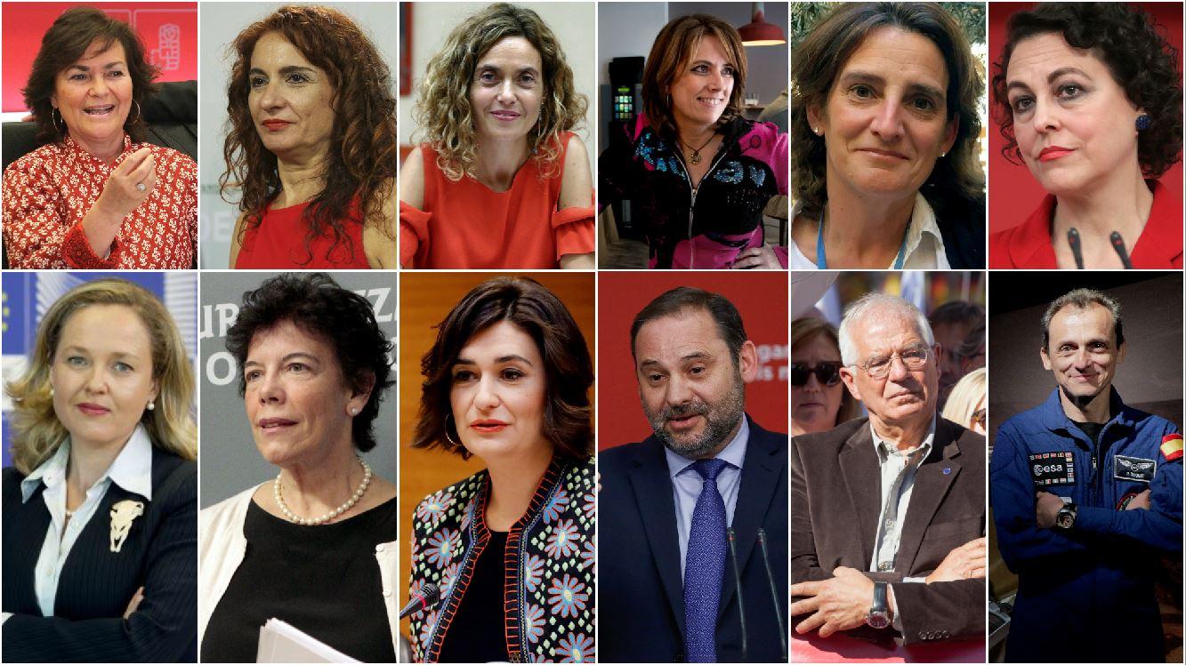 Педро Санчес сформировал первое в истории Испании правительство, где женщин больше, чем мужчин