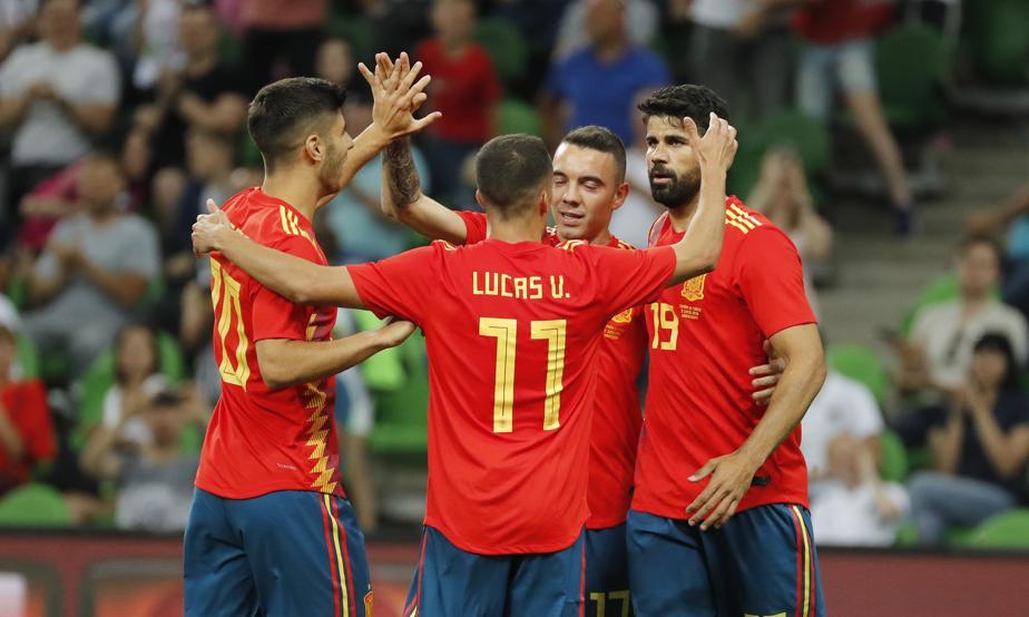 Сборная Испании завершила подготовку к чемпионату мира победой над Тунисом