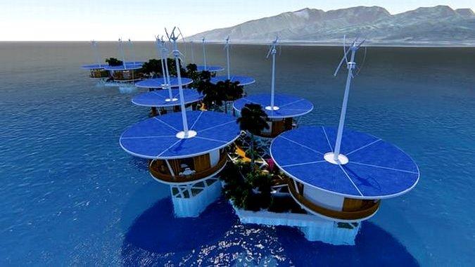 Страны мира борются за право принять плавучие острова