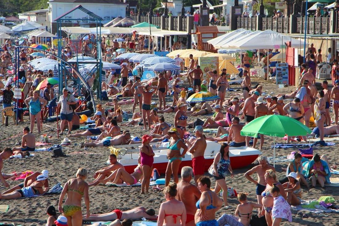 В Крыму отдохнули полтора миллиона туристов