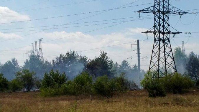 Ассоциация чернобыльских туроператоров информирует о пожаре в Рыжем лесу