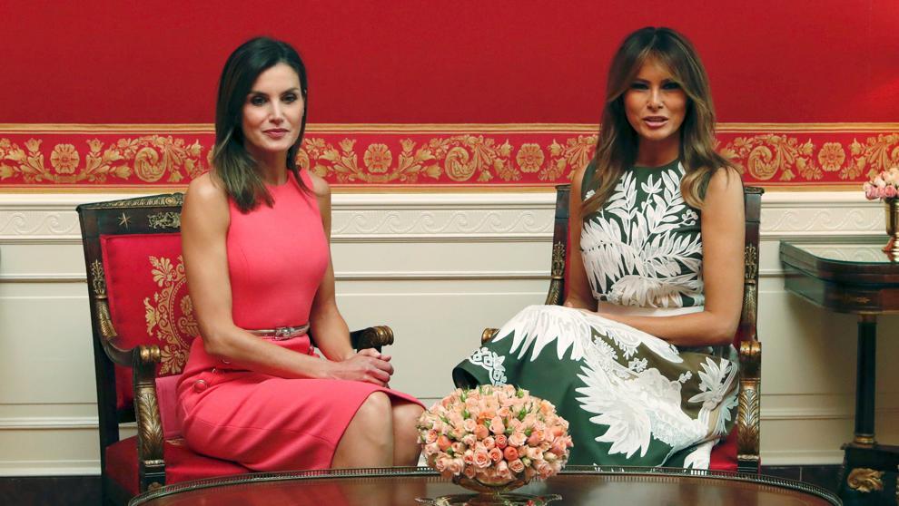 Мелания Трамп и королева Летисия обсудили вопросы воспитания детей