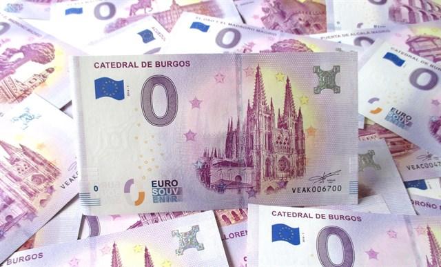 В Испании напечатали коллекционные банкноты достоинством ноль евро