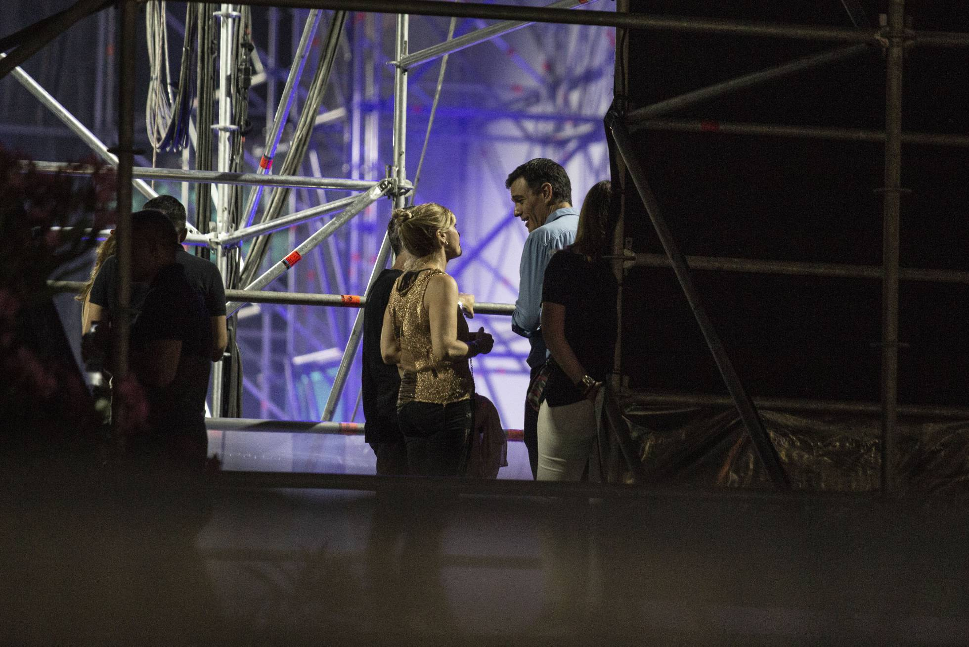 Премьер-министр Испании посетил концерт The Killers на музыкальном фестивале FIB