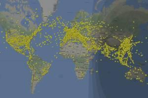 Новый рекорд: более 200 000 лайнеров поднялось в небо в течение дня