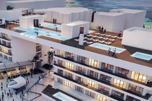 На Майорке открыт крупнейший подвесной бассейн в Европе
