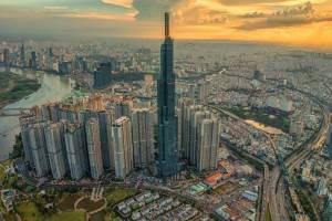 В Хошимине достроили самый высокий небоскреб Юго-Восточной Азии