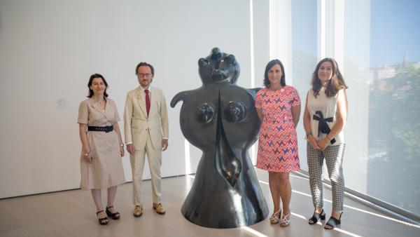 Семья Жоана Миро передала четыре скульптуры Городскому совету Сантандера и центру Ботин