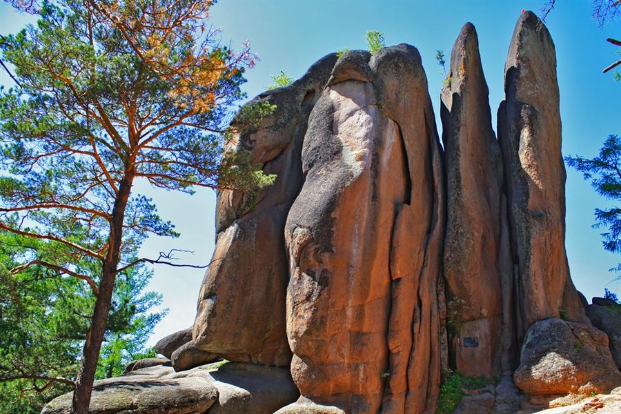 «Красноярские столбы» закрыли для туристов из-за медведей