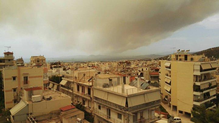 Белорусы, живущие в Афинах, о лесных пожарах: