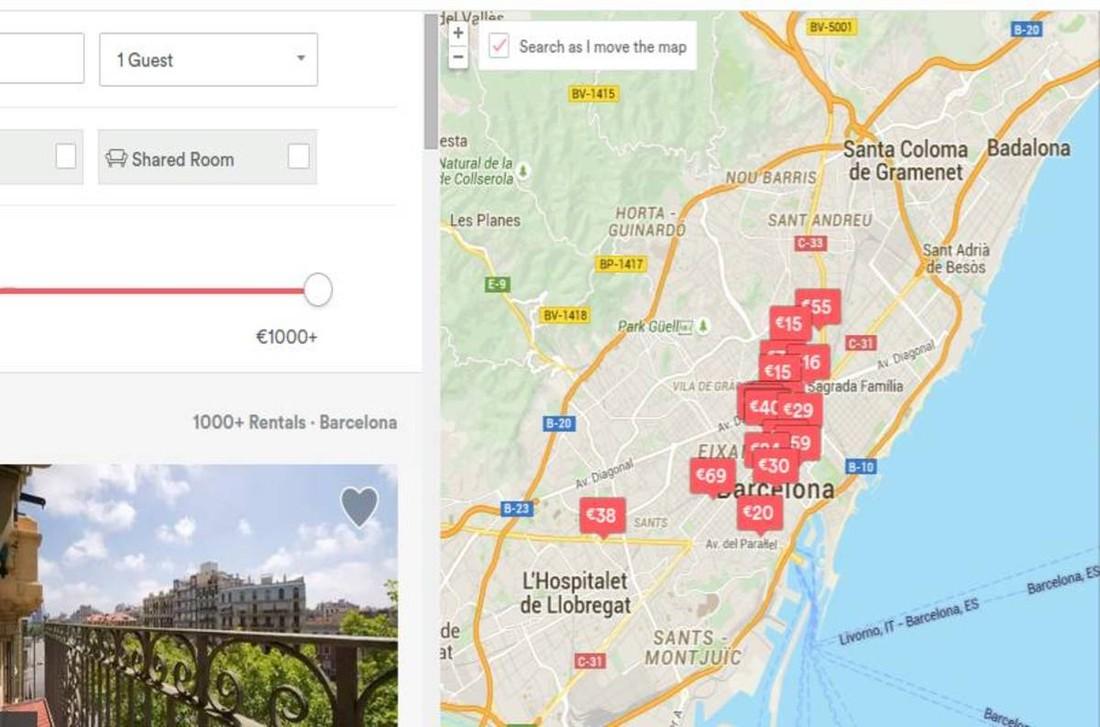Власти Барселоны попросили у туристов поддержки в борьбе с «нелегалами» Airbnb