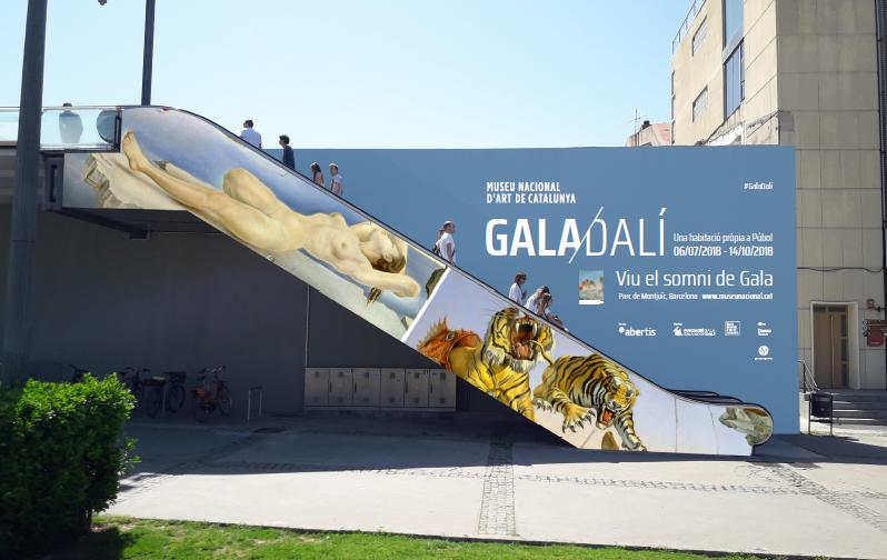 Выставка «Гала Дали» в Museu Nacional d'Art de Catalunya вызывает большой интерес у туристов и жителей Барселоны