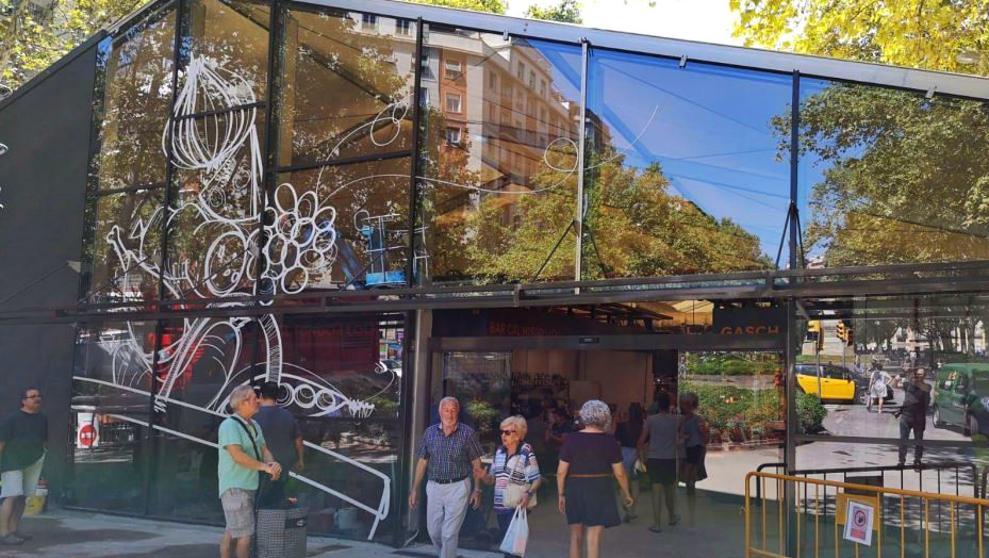 Рынок Абасерия в Барселоне открывает временный павильон на аллее Сан-Жоан