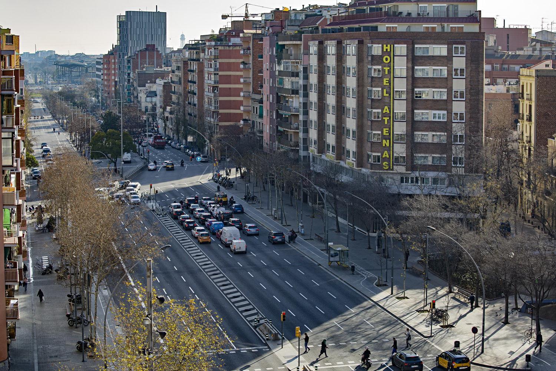 В Барселоне началась реконструкция проспекта Меридиан