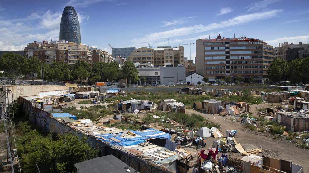 Трущобы неподалеку от центра Барселоны снесены по распоряжению мэрии