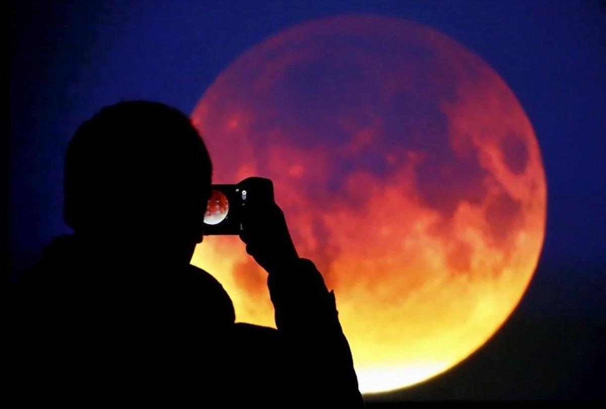 Самое длительное за сто лет лунное затмение можно будет увидеть в Испании вечером 27 июля