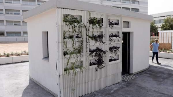 В Валенсии построен первый в Испании дом по технологии 3D-печати