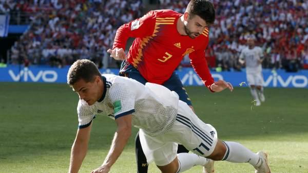 Защитник «Барсы» Жерар Пике завершил карьеру в сборной Испании