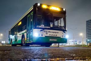 Из центра Москвы запустят ночной автобус во Внуково