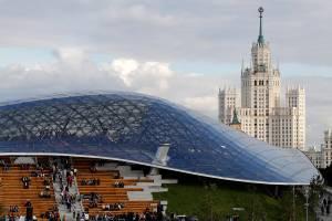 Парк «Зарядье» приравняли к Лувру и «Золотому мосту»