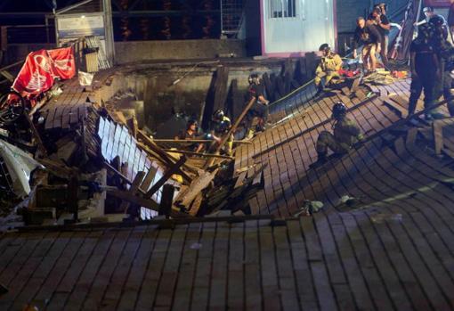 В результате несчастного случая на фестивале Виго ранены более 300 человек