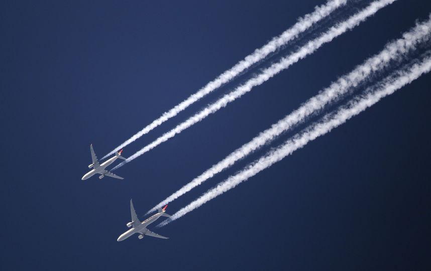 СМИ: самолет с российскими туристами чуть было не столкнулся с неопознанным лайнером