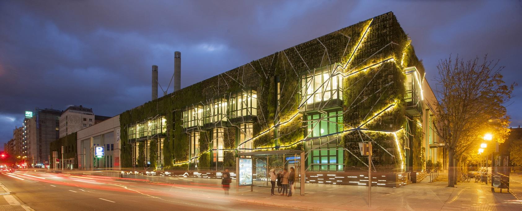 Шесть биоклиматических зданий в Испании