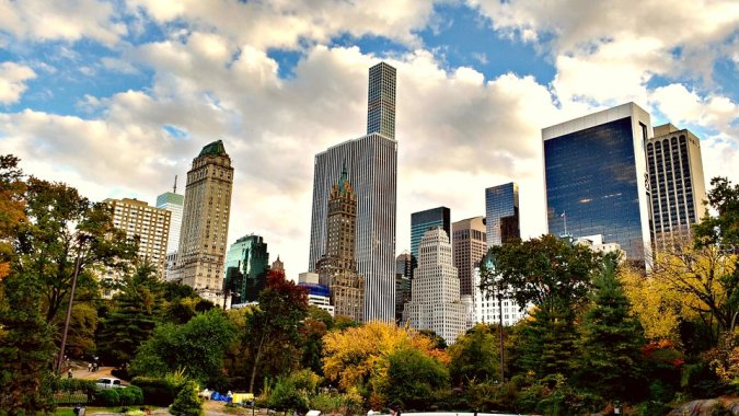 Cпящие в Нью-Йорке
