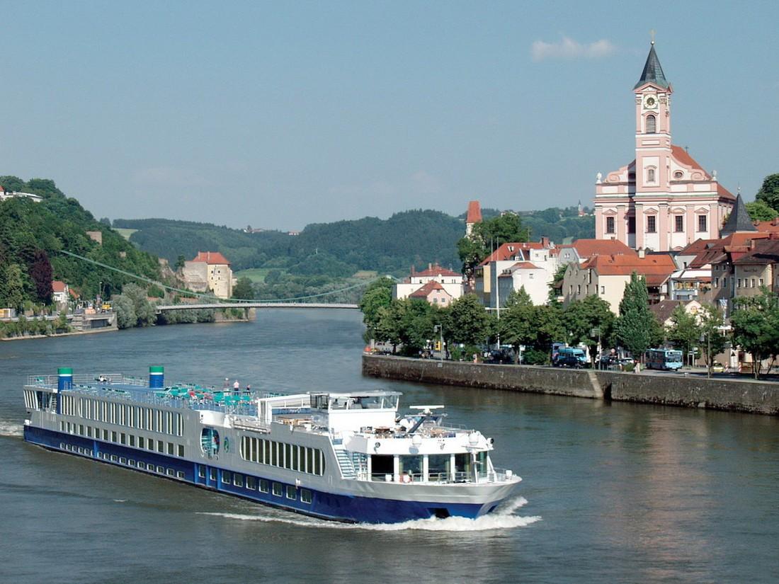 В Европе снимаются круизные маршруты из-за обмеления рек