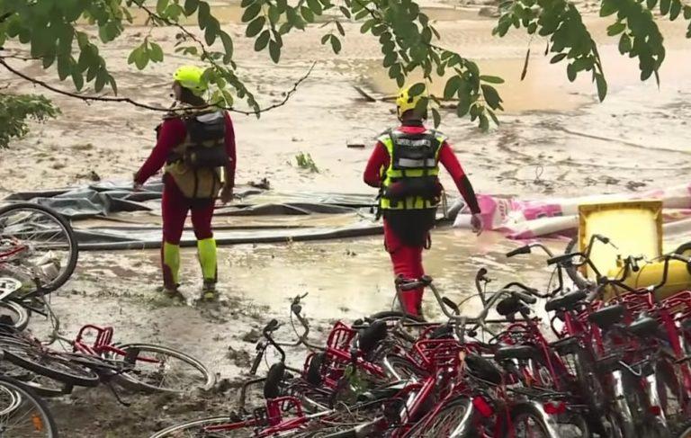 На Юге Франции 750 туристов эвакуировали из-за наводнения