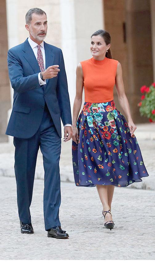 5 лучших нарядов королевы Летисии по мнению международной прессы