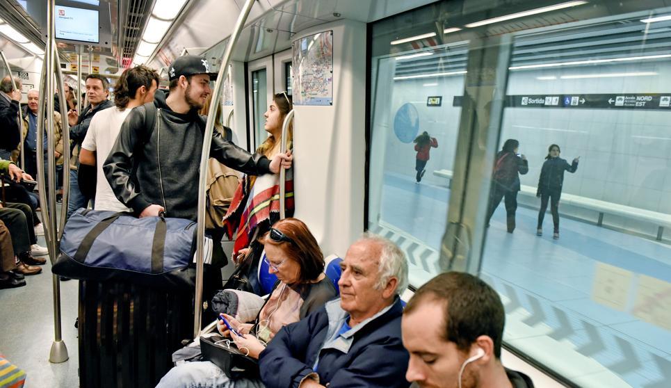 В барселонском метро установят анимированную рекламу