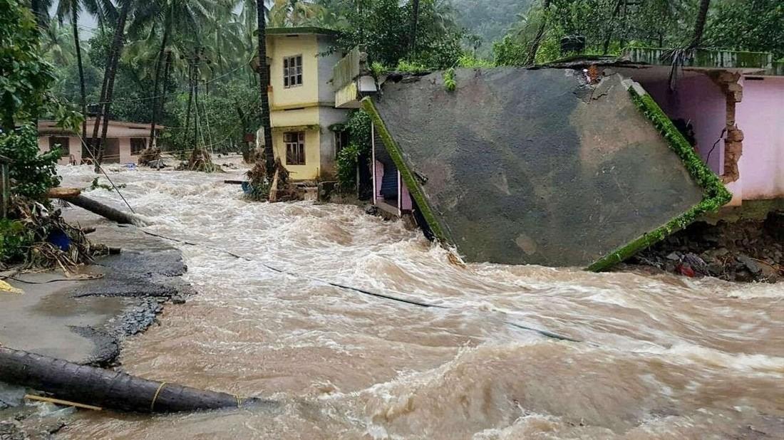 Ростуризм предупредил о наводнении в Керале